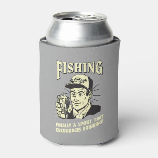 Fishing: Sport Encourages Drinking Can Cooler