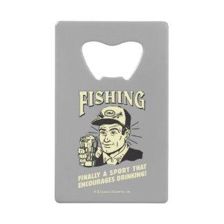 Fishing: Sport Encourages Drinking Wallet Bottle Opener