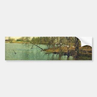 Fishing Spot Bumper Sticker