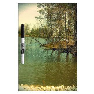 Fishing Spot Dry-Erase Board