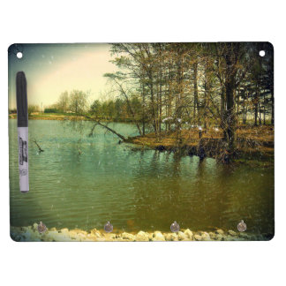 Fishing Spot Dry Erase Board With Keychain Holder