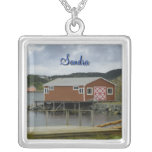 Fishing Stage in Twillingate Pendant