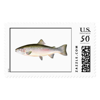 Fishing stamp - Rainbow Trout Fish