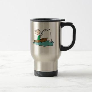 Fishing Stick Figure Mug