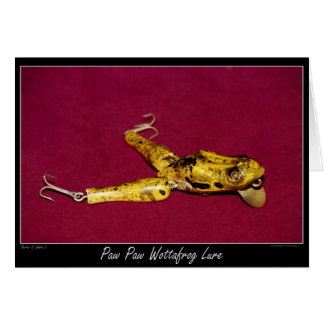 Fishing Still-life 02 Frog Lure Card