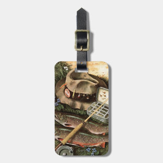 Fishing Still Life Bag Tag