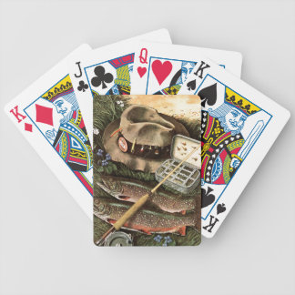 Fishing Still Life Bicycle Playing Cards