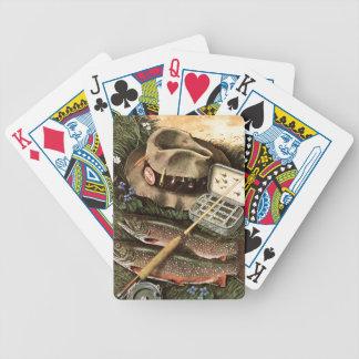 Fishing Still Life Deck Of Cards