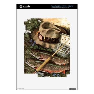 Fishing Still Life iPad 3 Decal