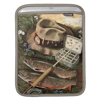 Fishing Still Life iPad Sleeve