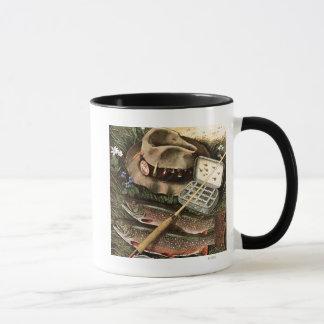Fishing Still Life Mug