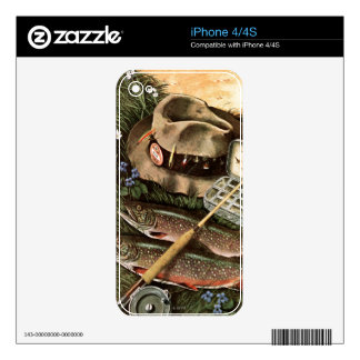 Fishing Still Life Skin For The iPhone 4S
