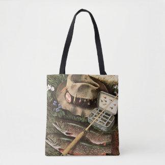 Fishing Still Life Tote Bag