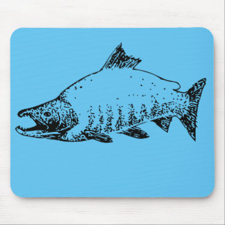 Fishing store mouse pad