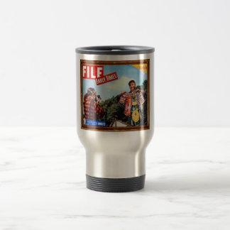 fishing story 15 oz stainless steel travel mug