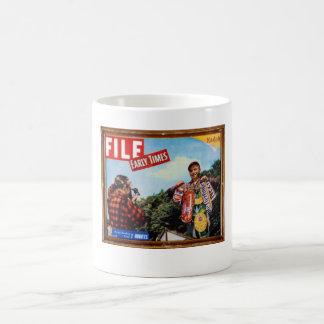fishing story classic white coffee mug
