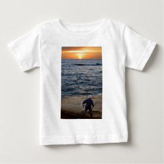 Fishing Sunset Baby T-Shirt