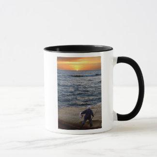 Fishing Sunset mug