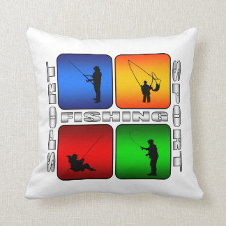 Fishing Super Nice Sport Design Throw Pillow