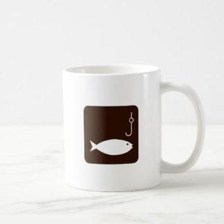 Fishing Symbol Coffee Mug