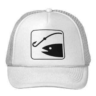 Fishing Symbol Hat