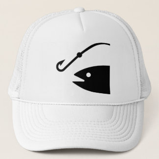 Fishing Symbol Hat
