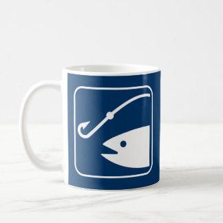 Fishing Symbol Mug