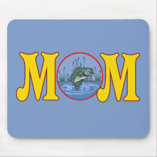 Fishing T-shirts and Gifts For Mom Mouse Pad