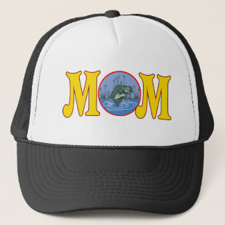 Fishing T-shirts and Gifts For Mom Trucker Hat