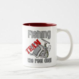 Fishing Team Fishing  The Reel Deal Coffee Mug