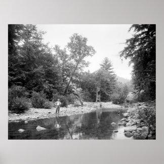 Fishing the Catskills: 1890 Posters