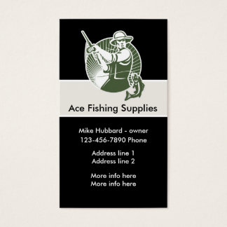 Fishing Theme Business Card