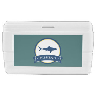 Fishing Theme Ice Chest