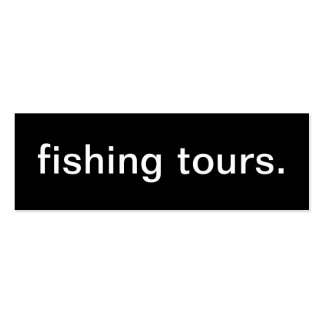 Fishing Tours Business Card
