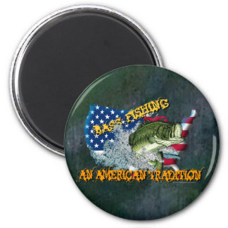 Fishing Tradition 2 Inch Round Magnet