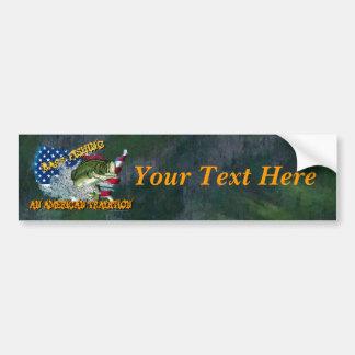 Fishing Tradition Bumper Sticker