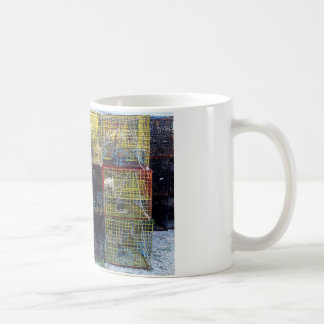 Fishing traps. coffee mug