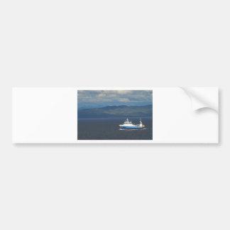 Fishing Trawler Car Bumper Sticker