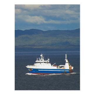 Fishing Trawler Postcard