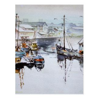 Fishing Trawlers Post Card