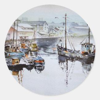 Fishing Trawlers Stickers
