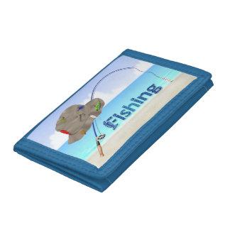 Fishing Tri-Fold Wallet