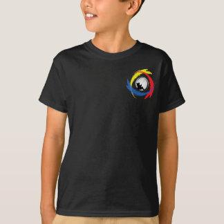 Fishing Tricolor Emblem T-Shirt