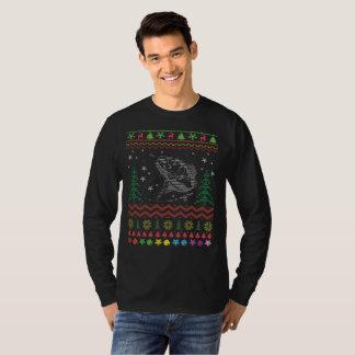 Fishing Ugly Christmas T-Shirt