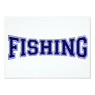 Fishing University Style Card