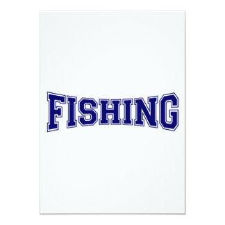 Fishing University Style Card