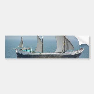 Fishing vessel in the Arabian Sea Bumper Stickers