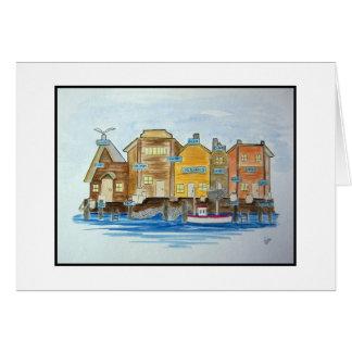 Fishing Village #1 Card