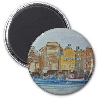 Fishing Village #1 Magnet