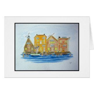 Fishing Village #2 Card